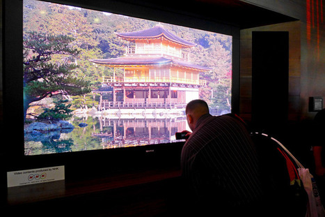 World's First 8K TV: Sharp 8K To Be Sold For $133,000 | Tech Latest | Scoop.it