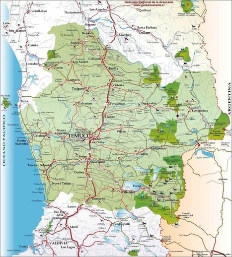 chili : géographie culturelle : Le Wallmapu : territoire et identité mapuche dans le Chili contemporain. | Géographie : les dernières nouvelles de la toile. | Scoop.it