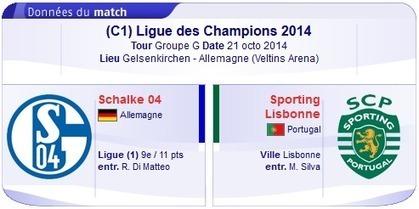 Regarder Schalke 04 vs Sporting Lisbonne en Direct streaming sur bein sport Le 21-10-2014-bein sport | bein sports arabia | Scoop.it