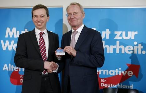 Allemagne : les anti-euro s'offrent une tête d'affiche | Ma revue de presse | Scoop.it