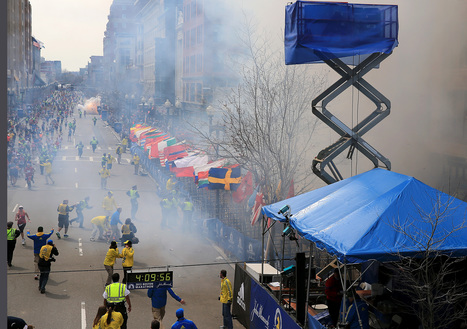Explosions rock Boston Marathon finish line; dozens injured - The Boston Globe | Gov & Law (Austin Briske) | Scoop.it