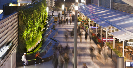 AECOM - Design + Planning - Practice Areas - Landscape Architecture - Living Wall at Westfield Shopping Centre | Vertical Farm - Food Factory | Scoop.it
