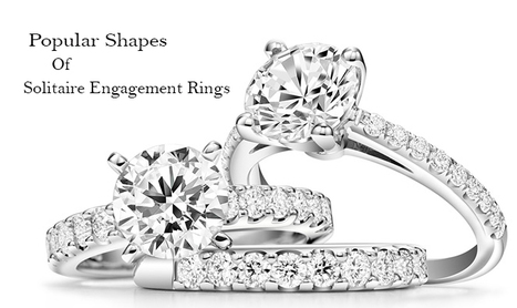 7 Impeccable Shapes of Solitaire Engagement Rings | Diamond Solitaire Ring | Scoop.it
