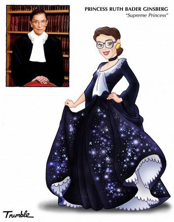 Artist Puts Disney Princess Filter On 10 Real Life Female Role Models   For Art's Sake-1   Scoop.it