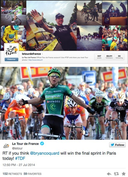 #LeTour: The social media story | Crowd-data & Content | Scoop.it