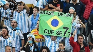 Argentine progress leaves Brazil braced for final insult | Argentina in Mundial 2014 | Scoop.it
