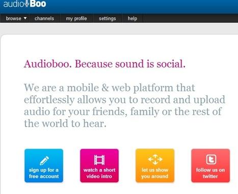 Audioboo | Aplicaciones y Herramientas . Software de Diseño | Scoop.it