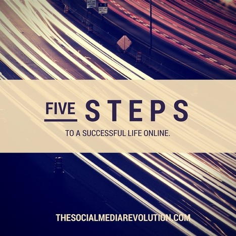 Create time, not waste it. 5 steps to a more successful life online | The Social Media Revolution | Scoop.it