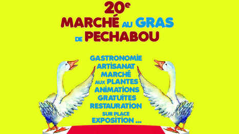 20e marché au gras de Pechabou ! – France Bleu | Pechabou | Scoop.it