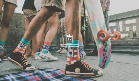 Socks designed to bring a combination of vivid colors by Zulu-Zion | Fashion Fetish | Scoop.it