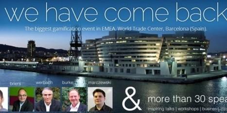 El Congreso Mundial de Gamificación llega a Barcelona | Gamification | Scoop.it