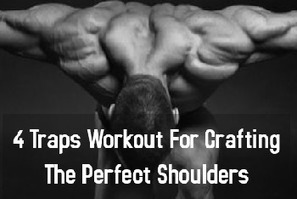 4 Traps Workout For Crafting The Perfect Shoulders | Best Leg Workouts For Mass Gain | Scoop.it