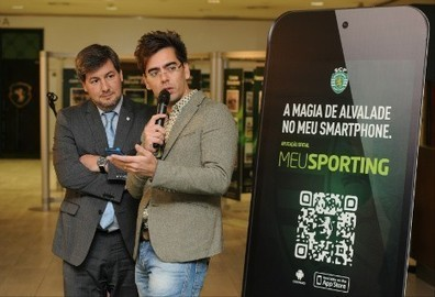 Leões apresentam app inovadora - O Jogo | Social Media and it's importance on Football | Scoop.it