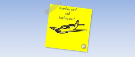 Boarding card and landing card by @PrimaryLessons | ICTmagic | Scoop.it