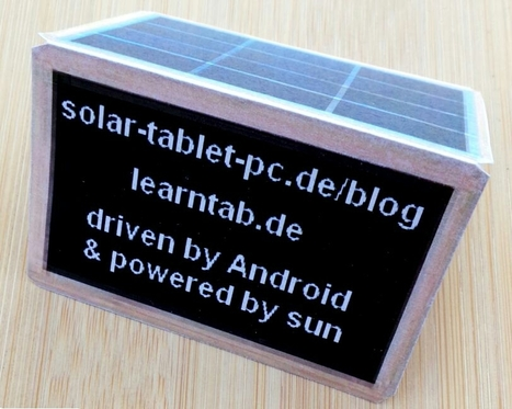 Solar powered  learnstation available! | solar-tablet-PC | Scoop.it