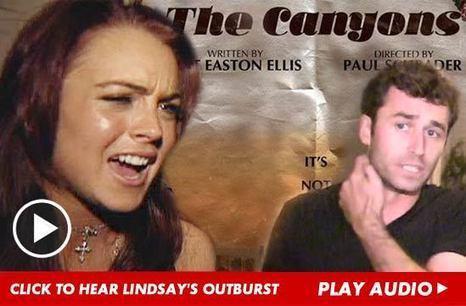 Lindsay Lohan BLASTS 'Canyons' Co-Star -- 'Do Your F**king Job' [Audio]   AbuHill   Scoop.it