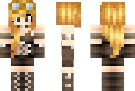 PixeledMe Minecraft | Herp Derp Steampunk Minecraft Skin | Idk | Scoop.it
