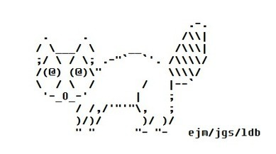 The Start of an ASCII Raccoon | ASCII Art | Scoop.it