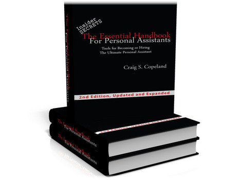 The Personal Assistant's Handbook - Insider secrets to landing the best Personal Assistant jobs working for the rich and famous | Executive Assistants & Personal Assistants | Scoop.it