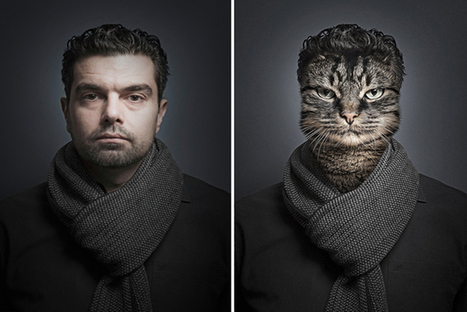 Photographer Splices Owners with Their Cats Faces for a Series of Anthropomorphic Felines - PSFK | Digital-News on Scoop.it today | Scoop.it