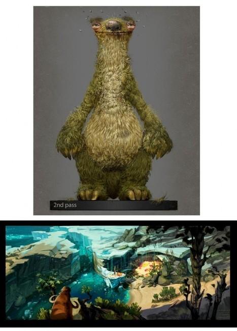 Artes de produção do filme Ice Age 4 Continental Drift | THECAB ... | Arts & Artists | Scoop.it