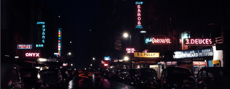 The development of urban nightlife, 1940s hipsters, & the rise of dating | OUPblog | Lighting in history | Scoop.it