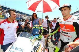 Iannone recovering following surgery | Ductalk | Scoop.it
