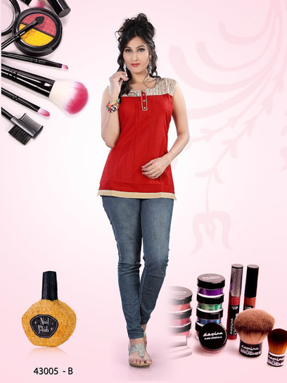 Jeans With Mix Cotton Printed Kurti Dresses | Live Style Vogue | Hot Fashion | Scoop.it