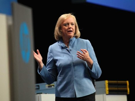Meg Whitman: We just signed a big deal to help Microsoft sell its Amazon-killer cloud | Future of Cloud Computing and IoT | Scoop.it