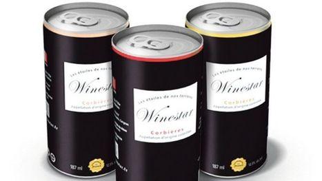 Les canettes de vin arrivent en France | What's new in business? | Scoop.it