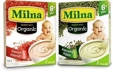 Milna Bubur Bayi Organik, MPASI Terbaik untuk Si Kecil   Infomasi Gizi   service-ac   Scoop.it