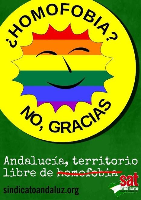 Declaración sobre el Día Internacional del Orgullo, 29 de junio | Sindicato Andaluz de Trabajadores (SAT) | La Andalucía Libre | Scoop.it