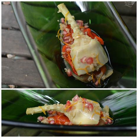 Ensalada de conservas de alcachofas y vegetales asados. :>Las recetas de Tere;; | recipes, recetas, coocking, cocinar | Scoop.it
