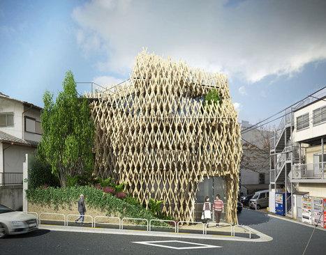 kengo kuma wraps sunny hills japan shop in wood | Advanced Architecture | Scoop.it