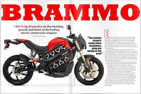 Charged EVs | Brammo CEO Craig Bramscher on the future of the leading electric motorcycle company | Electric Motorcycle | Scoop.it