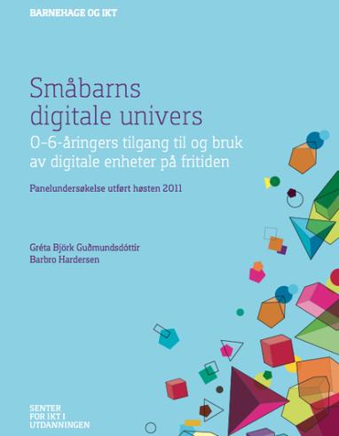 Omvärldsbloggen » Blog Archive » Små barn, digitala medier och lärande | Folkbildning på nätet | Scoop.it