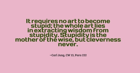 Some Carl Jung Quotations XLIII | Carl Jung Depth Psychology | Scoop.it
