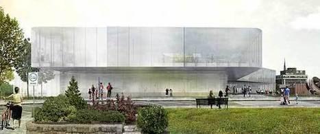 Future bibliothèque municipale de Drummondville | architecture & design en bibliotheques | Scoop.it
