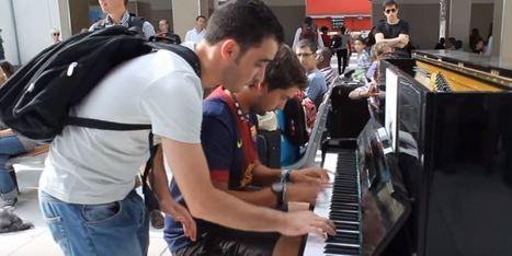 Due sconosciuti e un pianoforte alla stazione. Ed è subito magia. | Il mondo che vorrei | Scoop.it