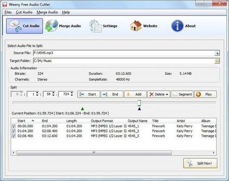 Free Audio Cutter, corta o une archivos de audio con este software gratuito | Recull diari | Scoop.it