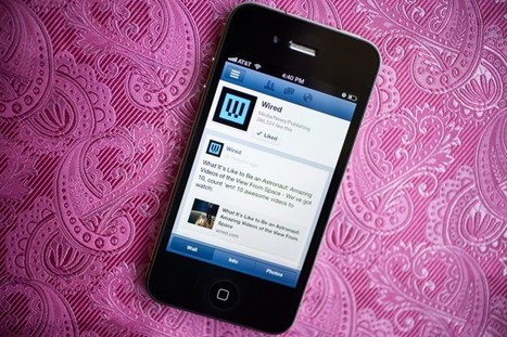 How Facebook Gets You to Test New Stuff on Its Mobile App - Wired | Mobile Stuff | Scoop.it