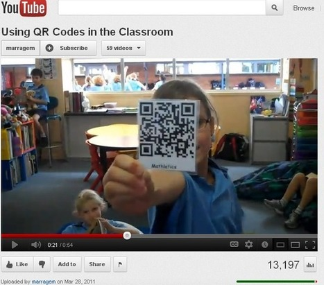 Mathletics.com - Learn How to Use QR Codes in the Classroom ... | Best Mathematics Apps | Scoop.it