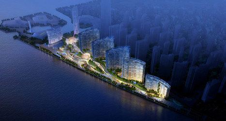 [Changsha, China] northstar xin he delta delivers waterfront lifestyle - designboom | The Architecture of the City | Scoop.it