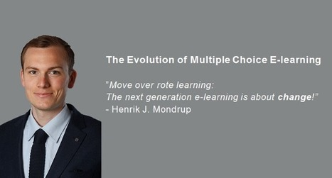 The Evolution of Multiple Choice E-learning | E-LEARNING | Scoop.it