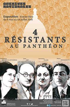 4 résistants au Panthéon - Archives nationales (France) | Le BONHEUR comme indice d'épanouissement social et économique. | Scoop.it