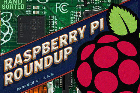 Raspberry Pi Roundup: Watching for the meter-reader, driving Lego cars and sweet art | Raspberry Pi | Scoop.it