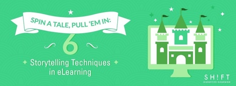 Spin a Tale, Pull 'Em In: 6 Storytelling Techniques in eLearning | APRENDIZAJE | Scoop.it
