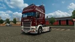 Vabis Denmark Skin for Scania RJL | ETS2 | Scoop.it