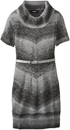 Amy Byer Big Girls' Belted Cowl Neck Sweater Dress | Health and Beauty Care | Scoop.it