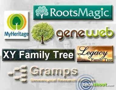 6 Best Free Genealogy Software - Tech Shout! | Rhit Genealogie | Scoop.it